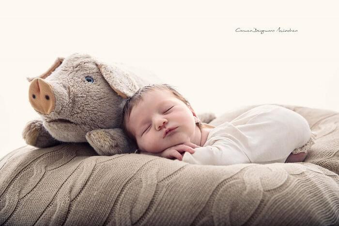 Neugeborenen Shooting Berlin Fotografie